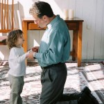 Brielle and Dad 2 years Discipline